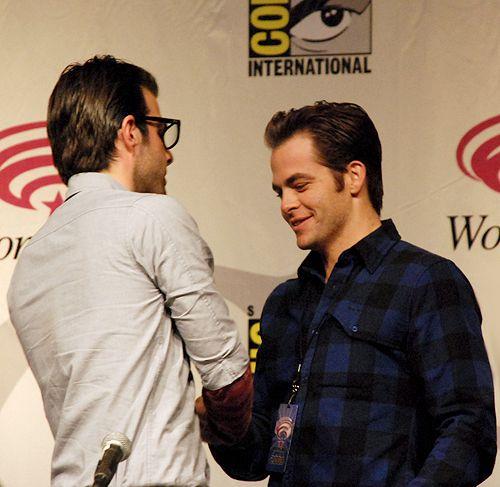 Chris & Zach - Chris Pine & Zachary Quinto Photo (35454092) - Fanpop