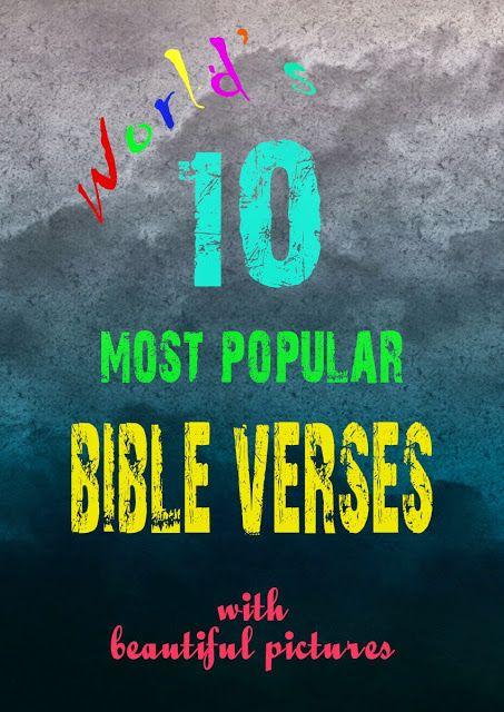 top bible verses to memorize pdf