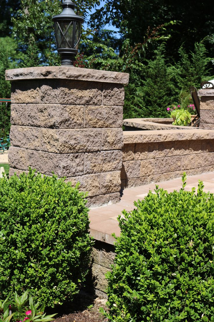 Cambridge pavingstones wall systems color options - Add Finishing Touches In Order To Make A Huge Difference Finish Your Projects With Cambridge