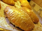 Greek Recipe for Tyropitakia (Cheese Pies) with Yogurt