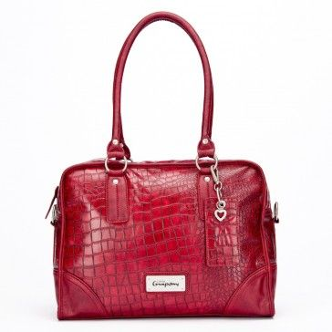 Croco Shoulder Bag - click on this image and find more info at the webshop shop.littlecompany.nl