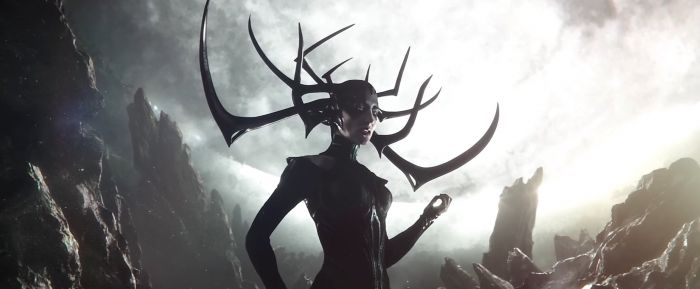 Marvel, Thor Ragnarok, Hela, Cate Blanchett, Lady Death, La Mort, Thanos, The Avengers 3 Infinity War