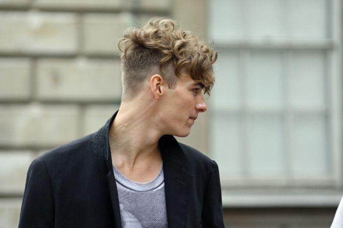 Corte de cabelo masculino cacheado