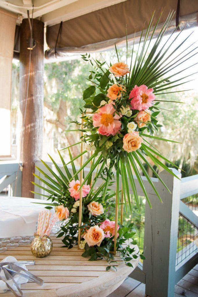 Tropical Floral Arrangement Tropical Floral Arrangements Floral Arrangements Wedding Wedding Floral Centerpieces