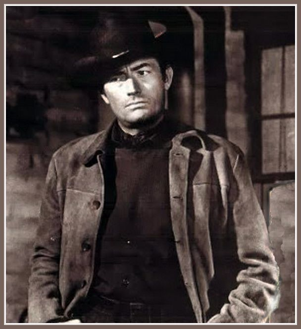 Image result for gregory peck the bravados gif