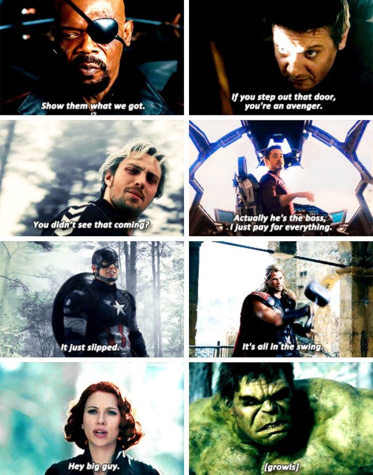 Age of Ultron QUOTES