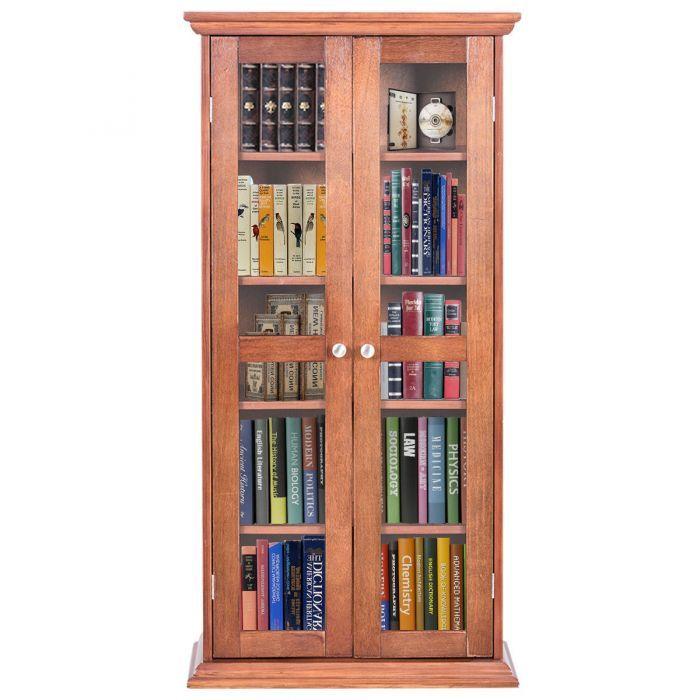 44 5 wood media storage cabinet cd dvd shelves promotion dvd rh pinterest com