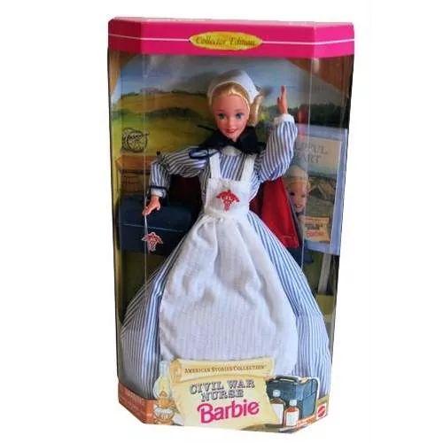 Barbie Collector Civil War Nurse Bunny Toys - $ 1.699,99