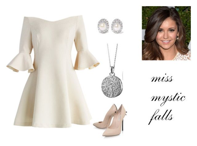 """""""Myss Mistic Falls Pageant"""" by denise-leon-i on Polyvore featuring Belleza, Chicwish, Blue Nile, Casadei y Kenneth Jay Lane"""