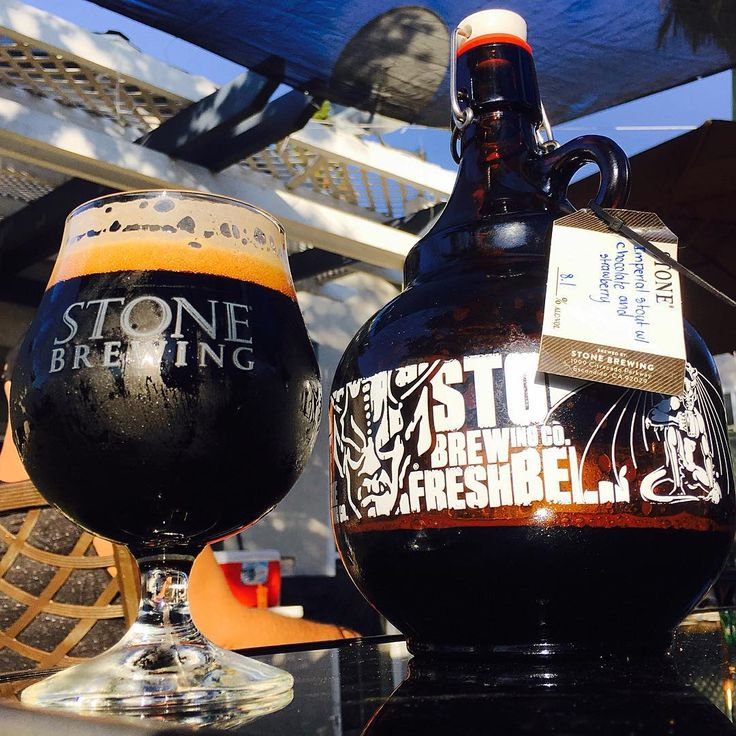 """76 Likes, 2 Comments - Andy Trejo (@craftbeertrejo314) on Instagram: """"Picked up some growler fills yesterday one of them was @stonebrewingco Imperial Stout w/ Chocolate…"""""""