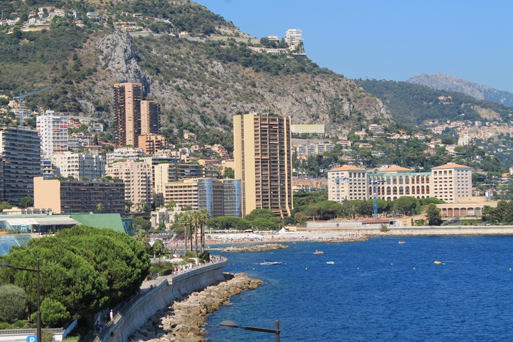 Waterfront in MonteCarlo.