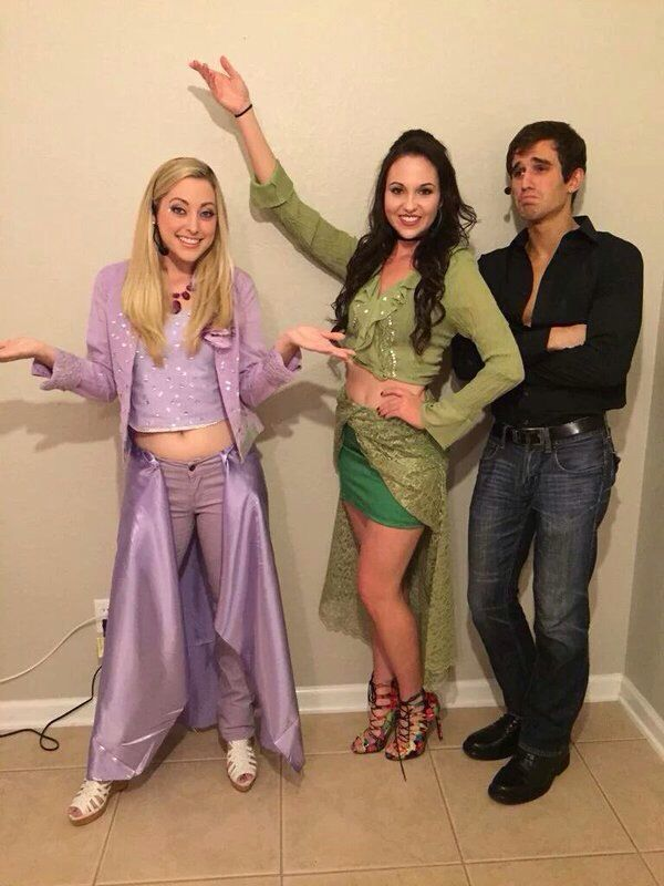 The Lizzie McGuire Movie Halloween Costume-Lizzie, Isabella, and Paolo