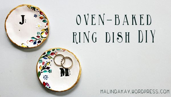You've probably seen the Anthropologie equivalent of this stunning ring dish design, so will want to thank Malinda Kay for re-creating this budget-friendly version! Check out her tutorial to see how it was done.