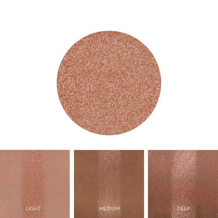 This is the lid color the girl is wearing in the look you sent me (aka the one that's the cover photo for this board) The copper undertone in it will make blue eyes POP