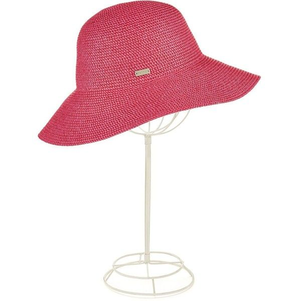 Betmar Wide-Brimmed Hat ($24) ❤ liked on Polyvore featuring accessories, hats, azalea, betmar hats, wide brim hat and betmar