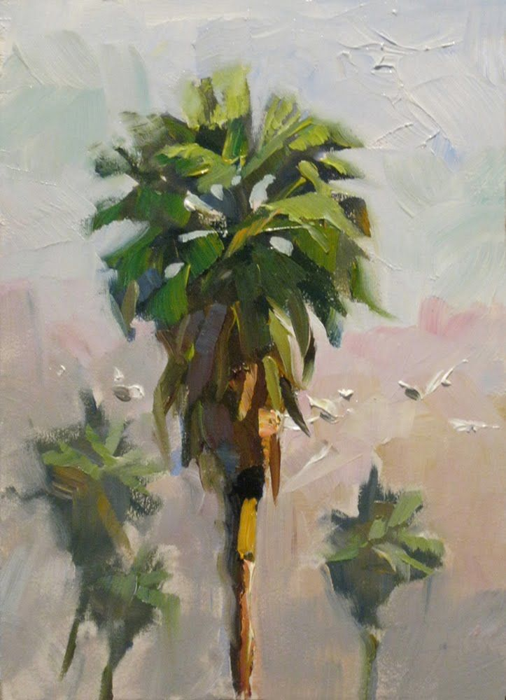 paintings of palm trees | Palntings