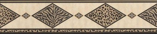 Bathroom Tiger Leopard Print Wallpaper Border FF22031B | eBay