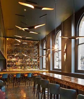 Christopher's Martini Bar. Covent Garden. Great brunch menu