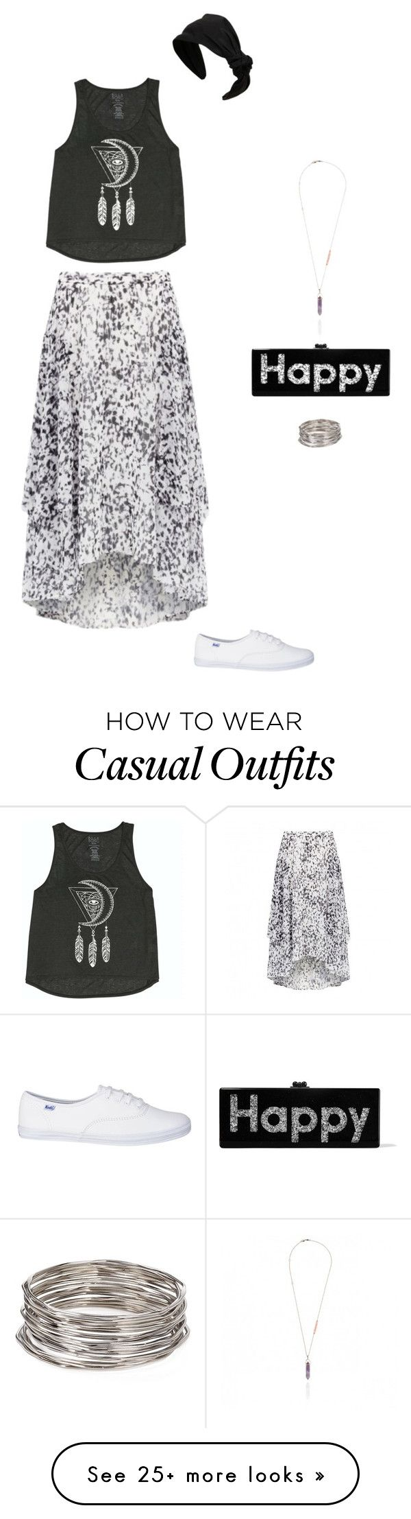 """Casual 14"" by bondril on Polyvore featuring Billabong, Forever New, Aqua, RED Valentino, Edie Parker, women's clothing, women's fashion, women, female and woman"