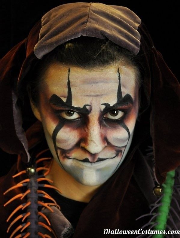 Evil Clown Makeup Halloween Costumes