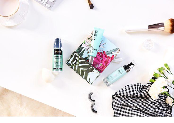 Alina Rose Makeup Blog: ZIELONA BAZA POD MAKIJAŻ z drogerii- porównanie trzech.