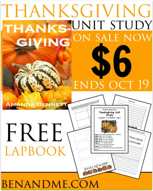 42 best deals images on pinterest frugal money savers and our favorite thanksgiving unit study from amanda bennett i s on sale for fandeluxe Choice Image