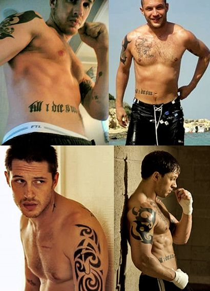 string-of-incompletes:    tomhardywithhair:    Why not topless Wednesday/ Thursday (depending on your location)?     I reaaaaaaaaaaaaally love the bottom left for some reason. I mean the others too but that one, jeez.    Tom Hardy Topless WHATEVERDAYITIS
