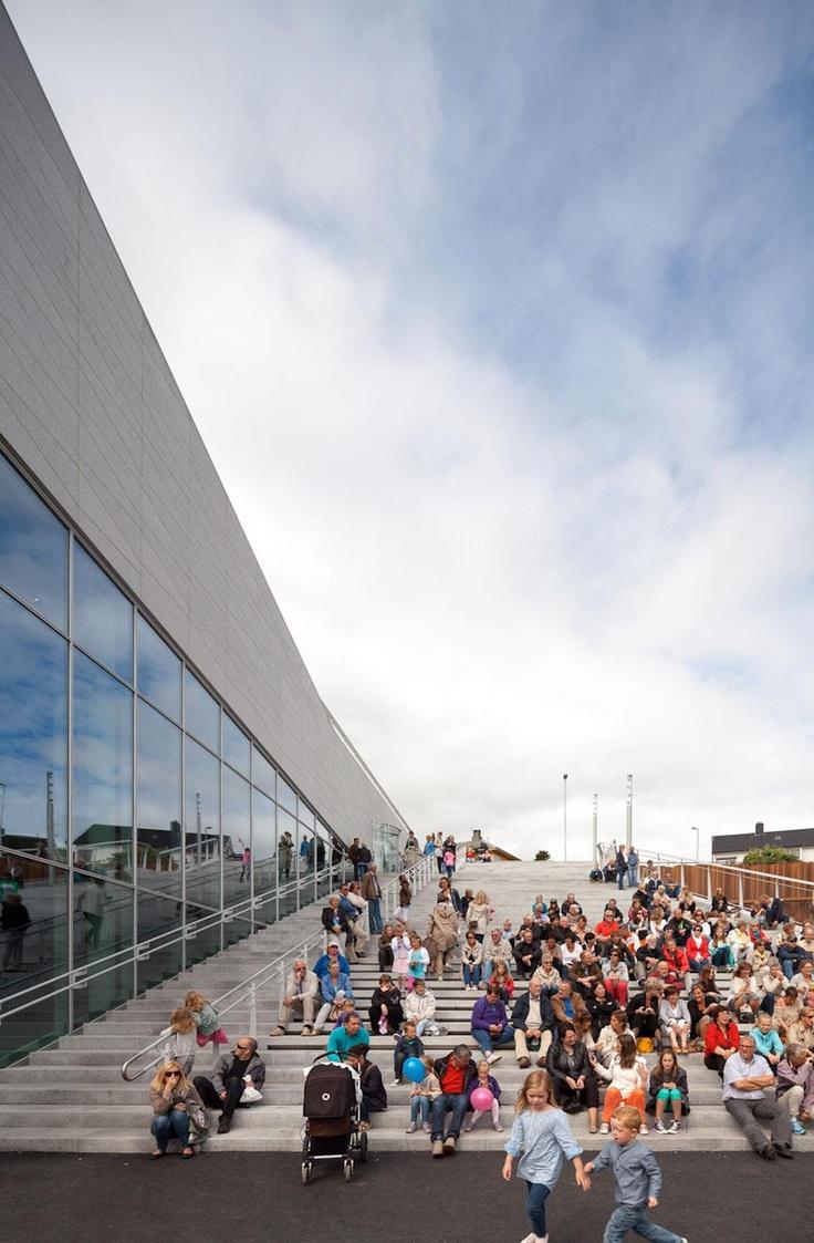3XN: Plassen Cultural Centre - News - Domus