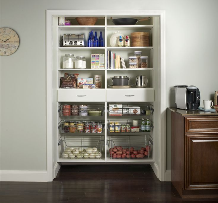 1000 images about ideas for the house on pinterest for Best pantry shelving system
