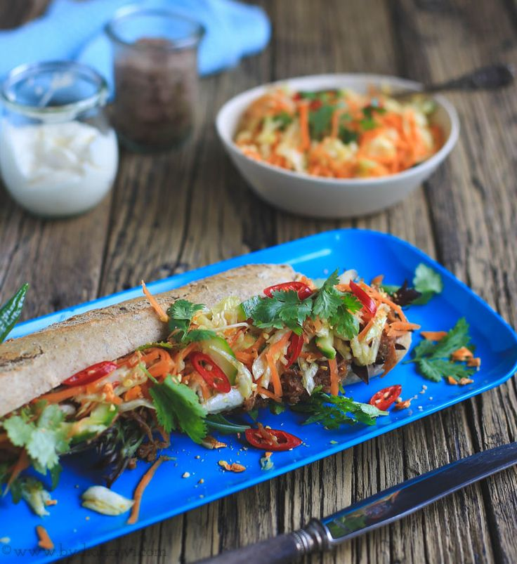 Banh mi sandwich opskrift, www.bydianawi.com