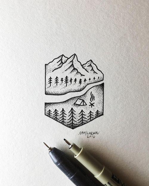 #art #illustration                                                                                                                                                      Más