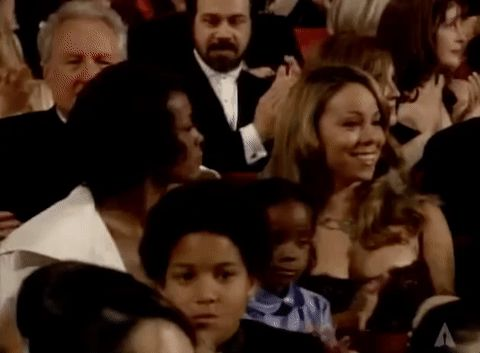New party member! Tags: meme oscars confused memes whitney houston oscars 1999 looking around