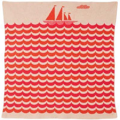 Donna Wilson nautical pattern via print & pattern. #waves #sea