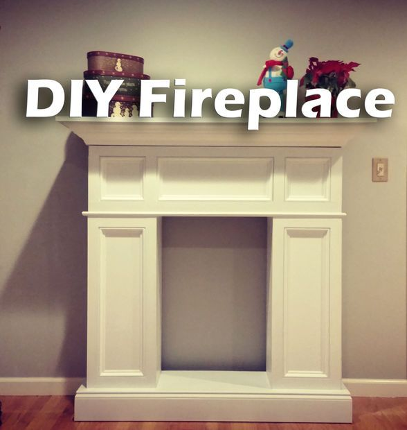 DIY Fireplace Build