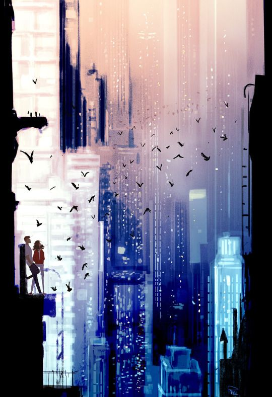 The Art Of Animation. I love this piece a lot it reminds of a new world or the future.