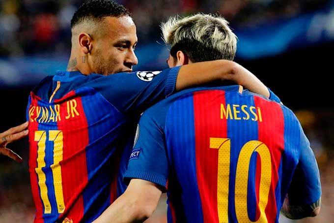 ¡Conmovedor! Con un emotivo video Leo Messi se despidió de Neymar #Deportes #Fútbol