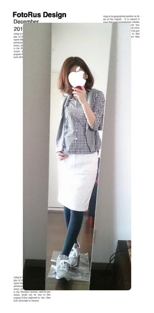無印良品ギンガムチェックシャツのnewカラー の画像|ファッションと料理と家事日和
