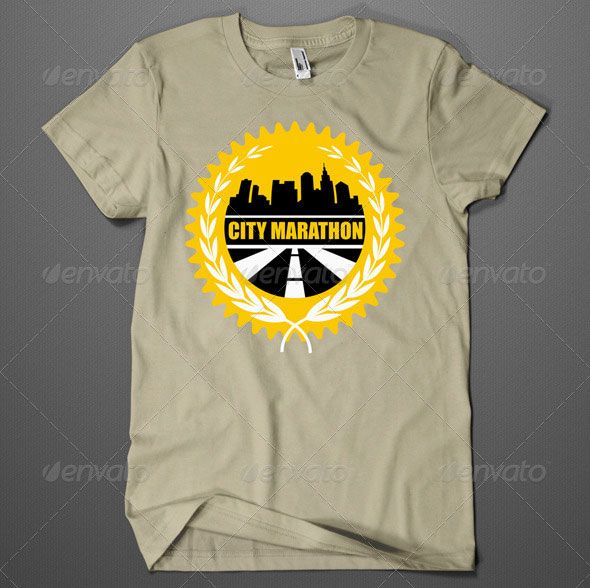 city marathon t shirt design city marathon t shirt design all text and color are easy editable and ready for print font used impact the windows font - Racing T Shirt Design Ideas