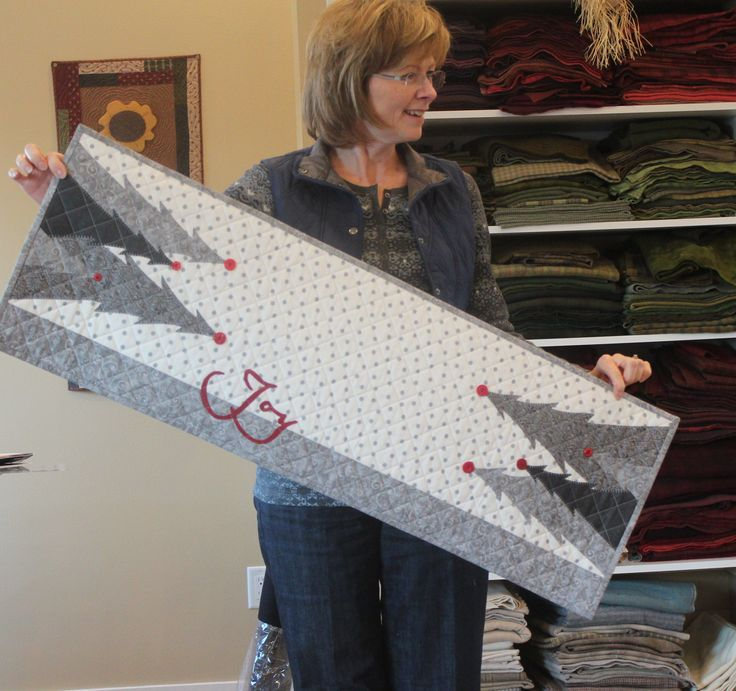 JOY Christmas Table Runner
