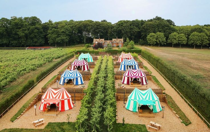 glamping - Knight's Glamping At Leeds Castle (Maidstone, Reino Unido)