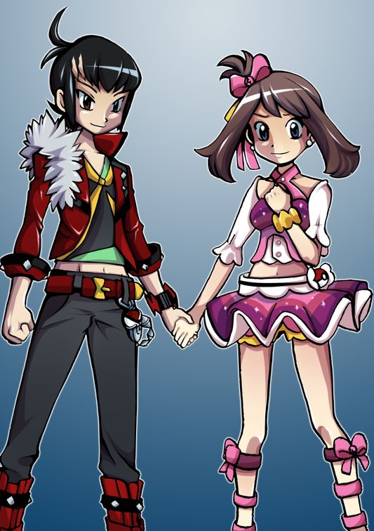 Ruby and Sapphire ORAS Franticshipping