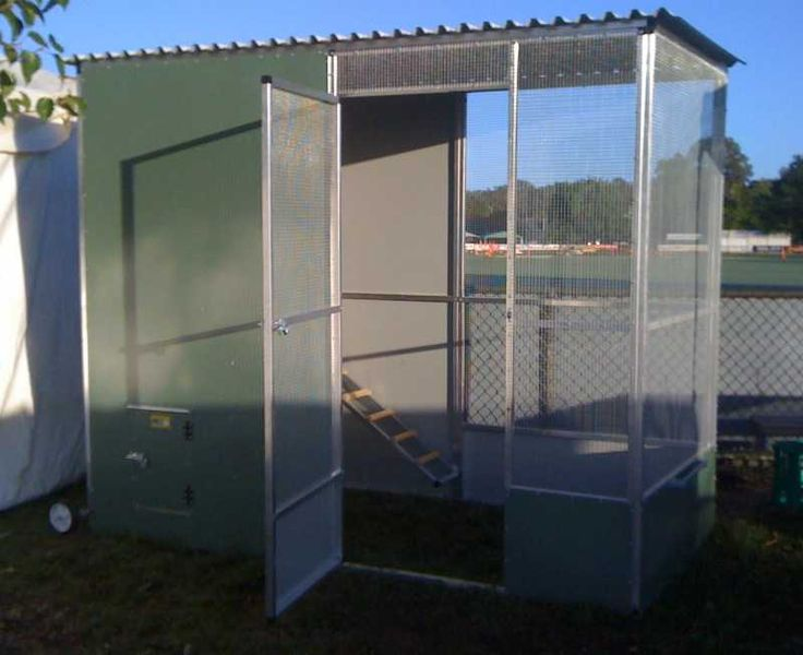 A walk-in mobile chicken coop. What more could you need?