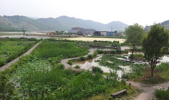 Bong-Ha town in Korea