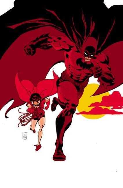 Batman: Dark Victory #13 by Tim Sale