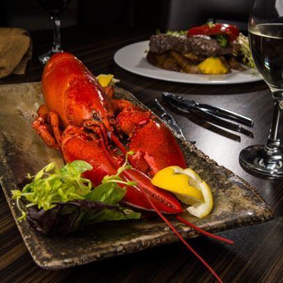 Lobster season in  Bathurst, NB, Canada