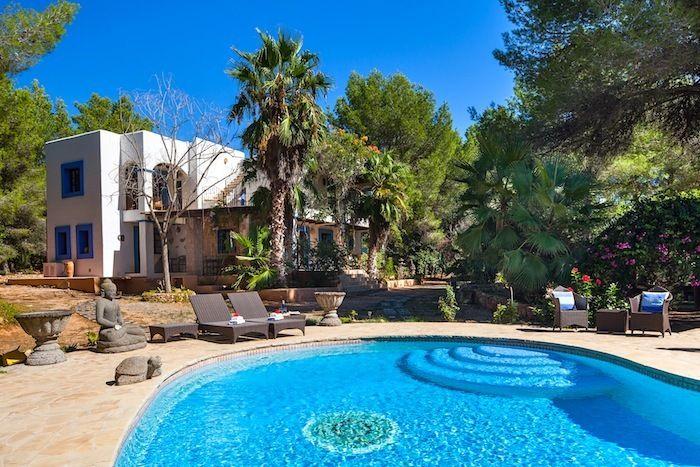 77 best gorgeous ibiza villas images on pinterest. Black Bedroom Furniture Sets. Home Design Ideas
