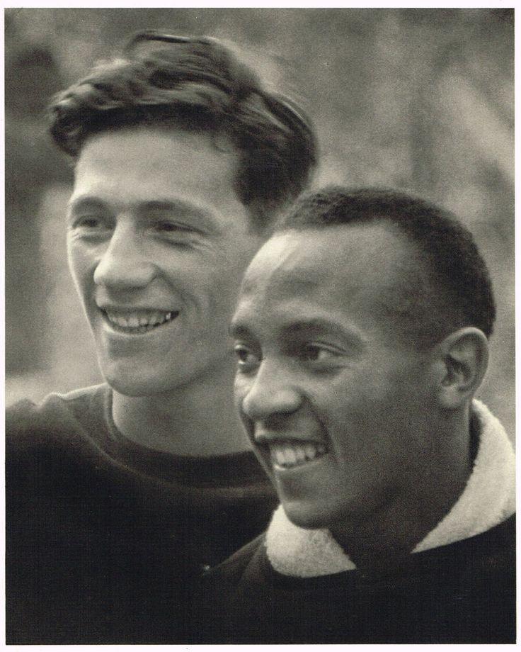 1936 Olympics Vintage Jesse Owens - Leni Riefenstahl Photo Photogravure Print b