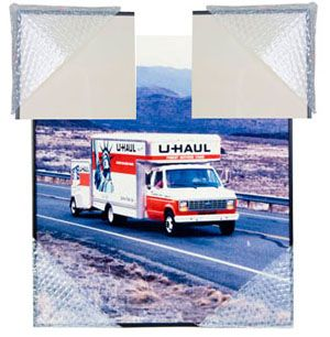 "U-Haul: Moving supplies: Bubble Corners, 16 EA 8""X8"""