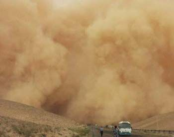 God brought dust storm to protect new believers from terrorist attack