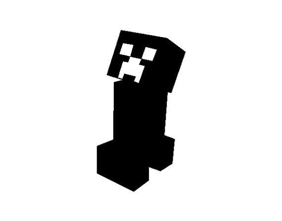 Minecraft Creeper Wall Decal Needz Minecraft And